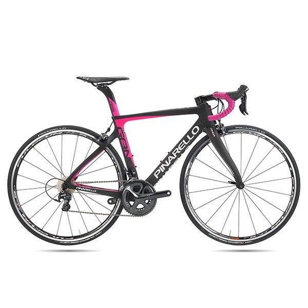 Bici_Pinarello_Gan_Rs_nero_fuxia_Olmo Olmo la Biciclissima