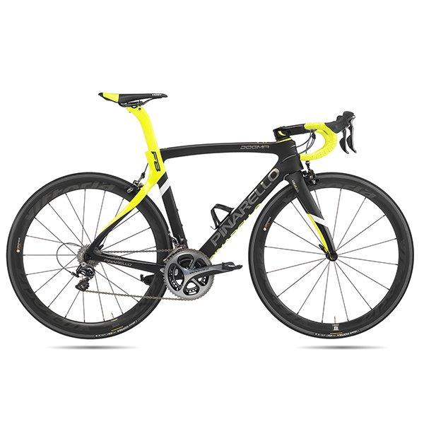 Bici_dogma_f8_nero_giallo_Olmo Olmo la Biciclissima